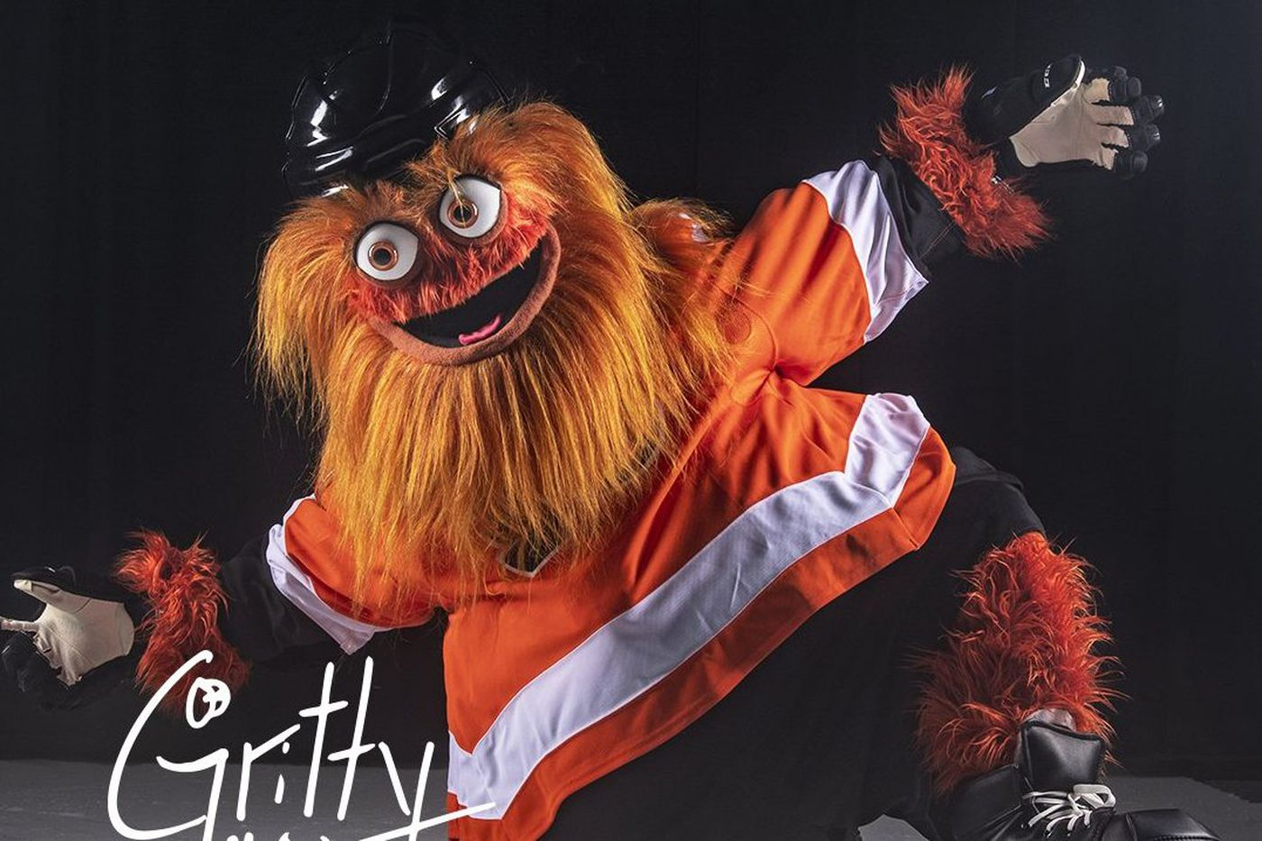 Gritty, the Flyers' new mascot, is set up for success. (According to the Phillie Phanatic, anyway.)