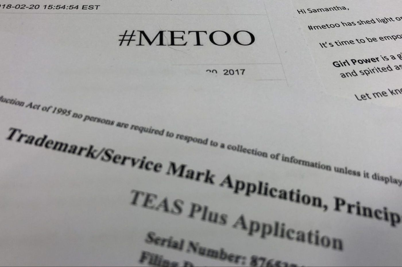Brands trying to make a buck off of #MeToo