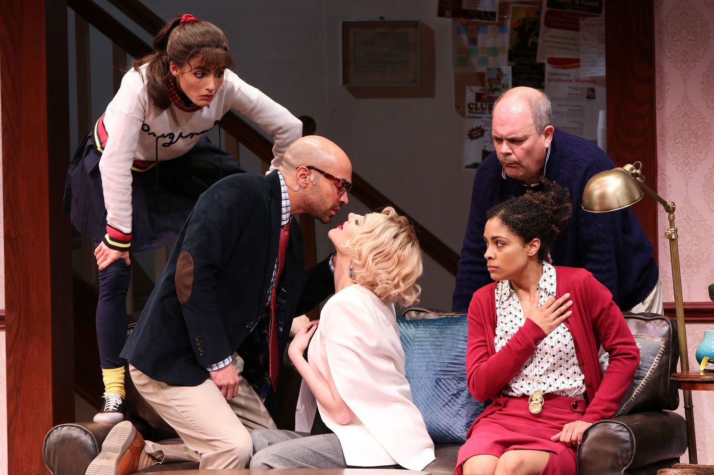 'Gods of Comedy' at McCarter Theatre: Mildly entertaining farce of wacky gods and clueless humans
