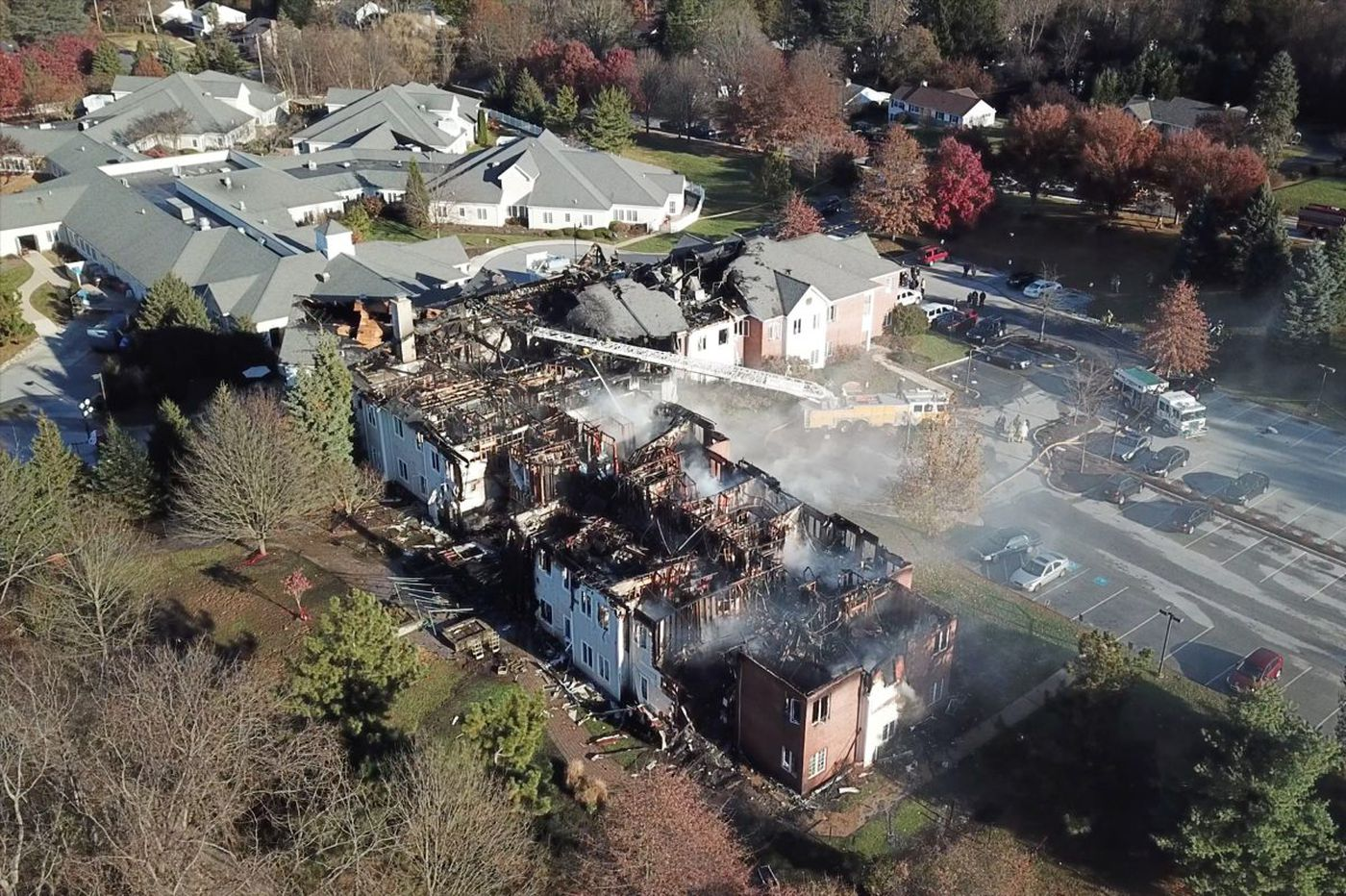 Four nursing-home residents missing, presumed dead in West Chester fire