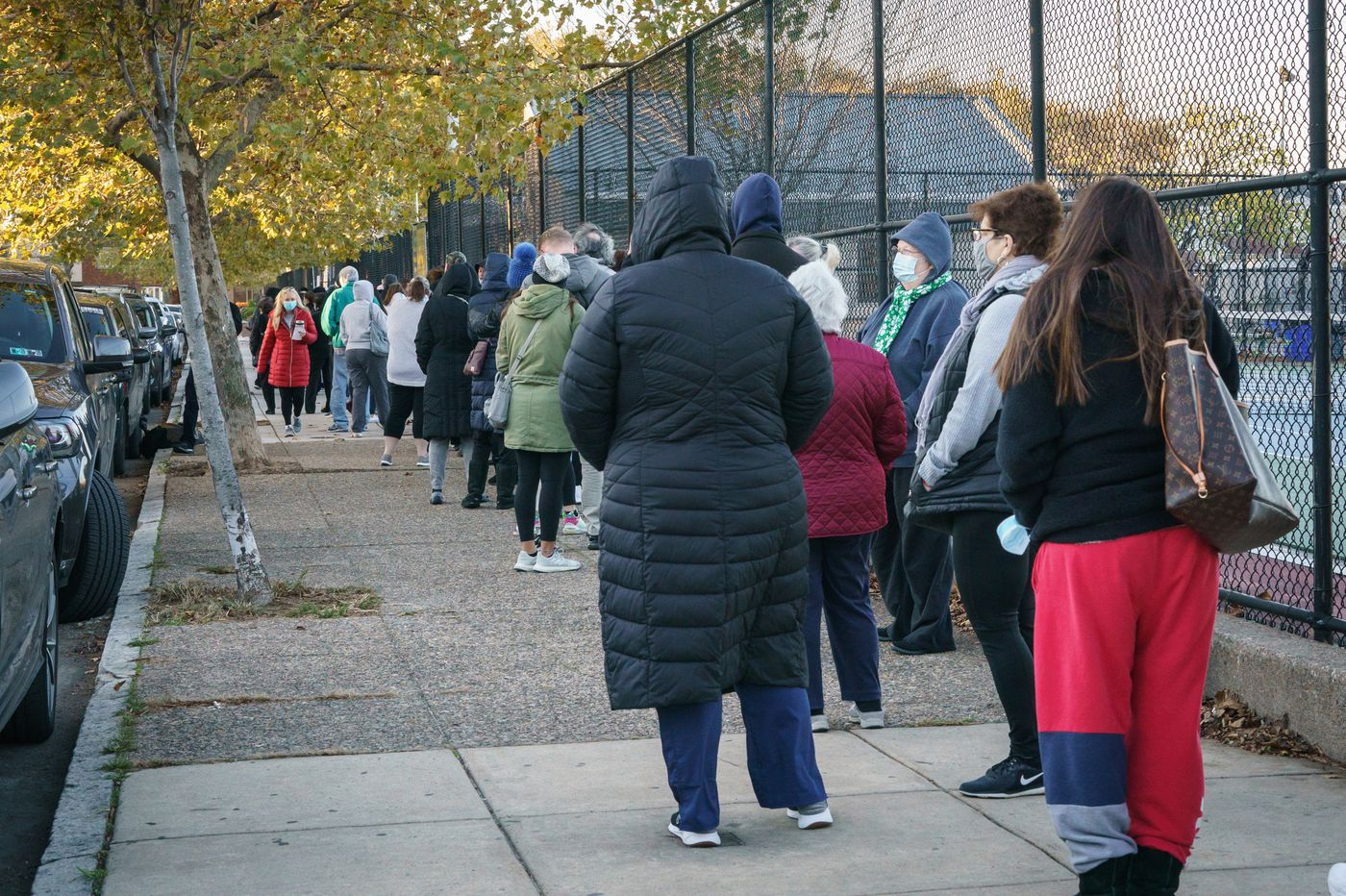 Waiting in line to vote? Here's how to kill time.