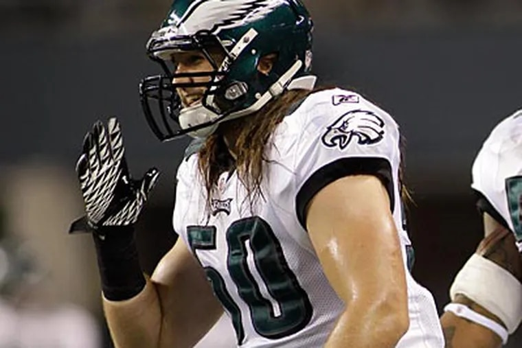 """""""It's another opportunity to go out there and show what I can do,"""" Casey Matthews said. (Ted S. Warren/AP)"""
