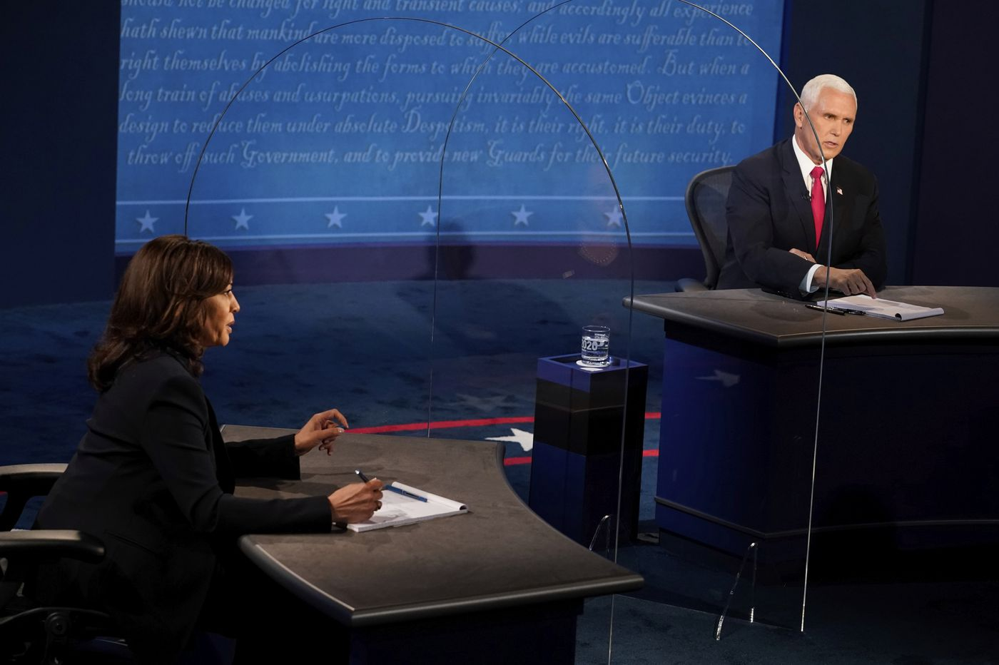 Fact-checking the vice presidential debate between Mike Pence and Kamala Harris