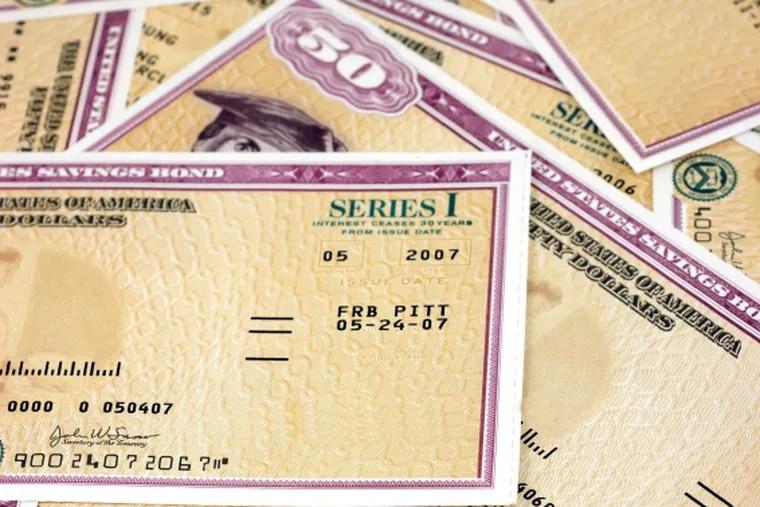 Series I savings bonds issued by the U.S. Treasury.