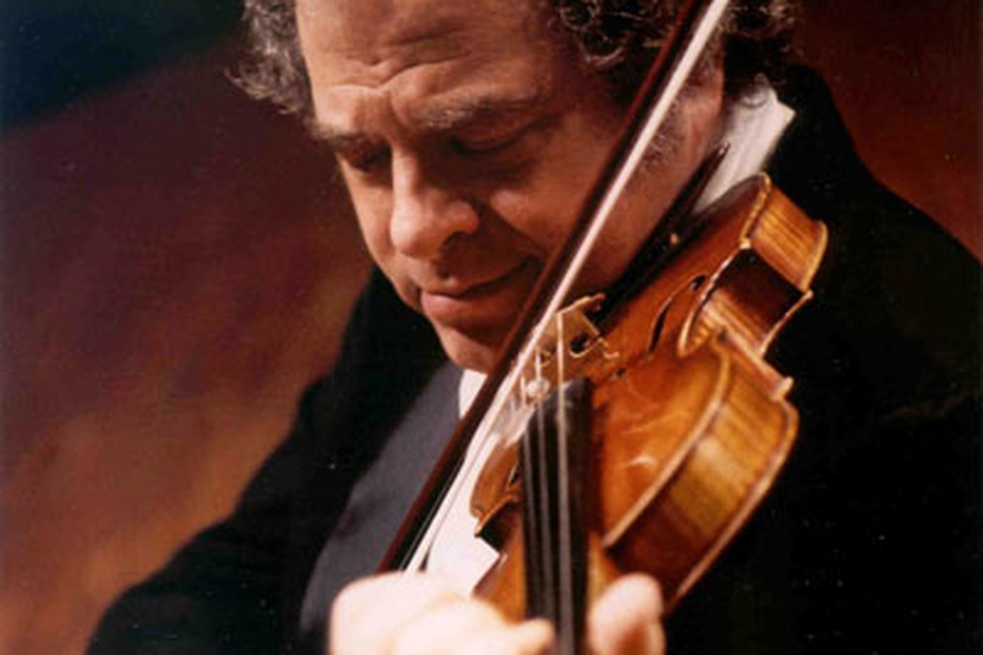 Half a fine evening with Itzhak Perlman