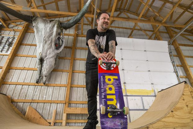 Bam Margera wants you to help with a project at Castle Bam on Thursday
