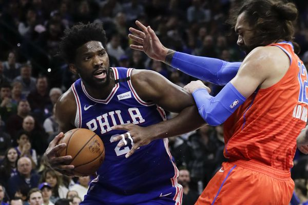 Sixers and Embiid tough out a win over Thunder to snap four-game losing streak