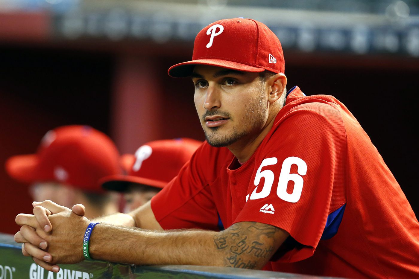 Phillies get creative, temporarily send Zach Eflin down to open roster spot for Justin Bour