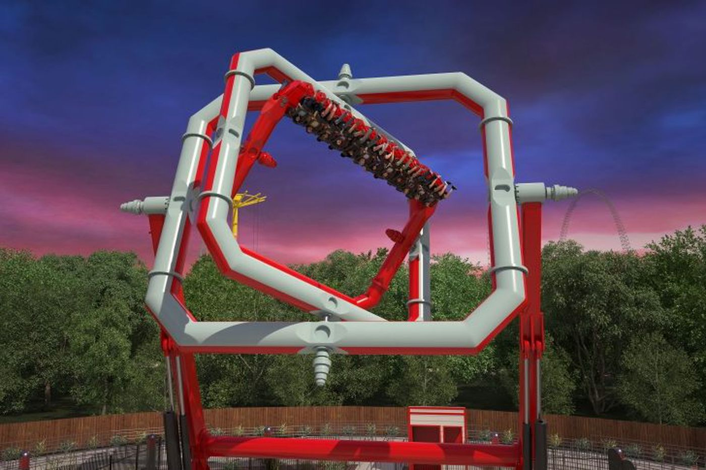 Six Flags to open anti-gravity Cyborg ride in 2018