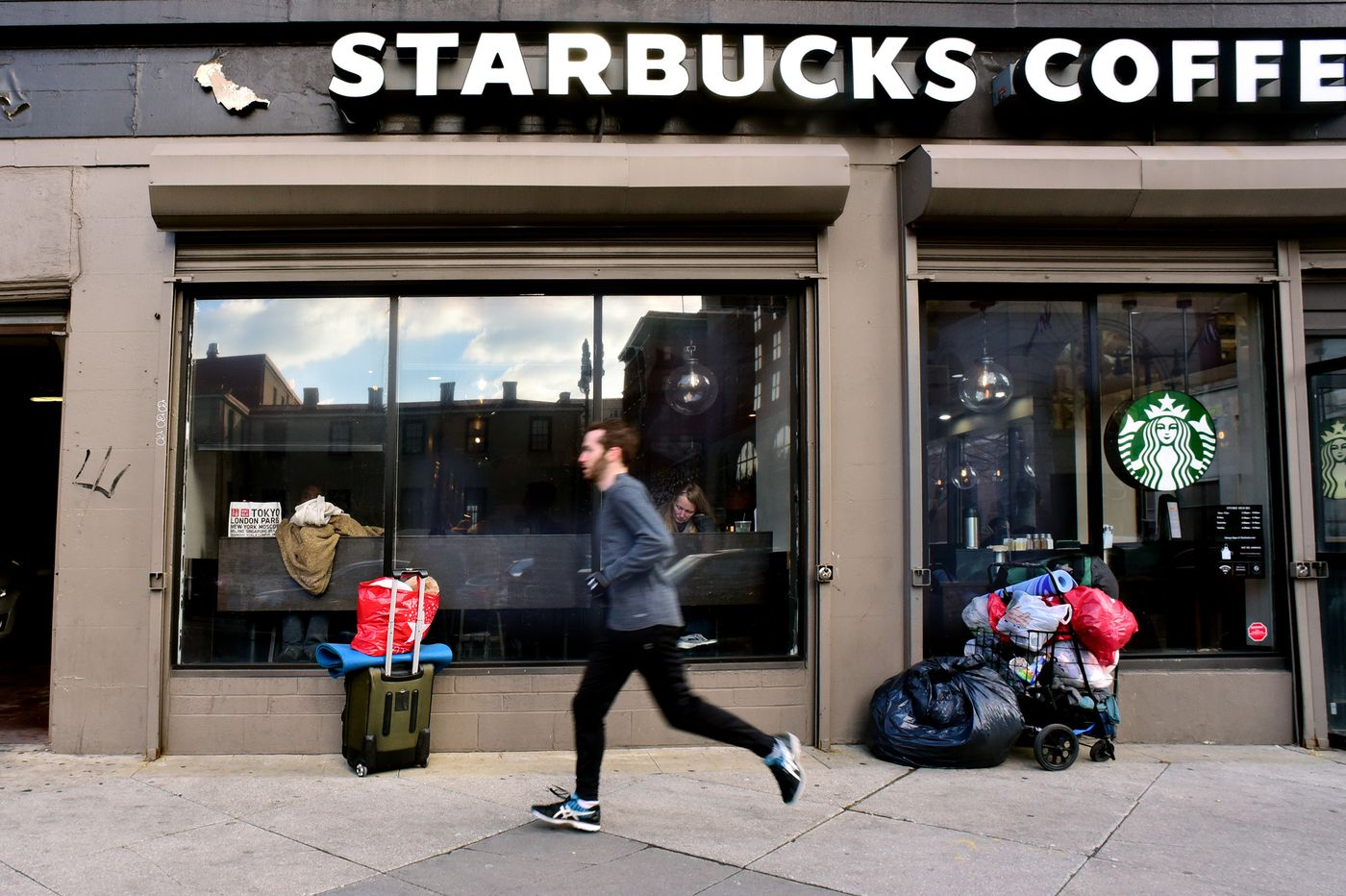 Is Starbucks redesign a 'keep out' sign for Philly's homeless people?