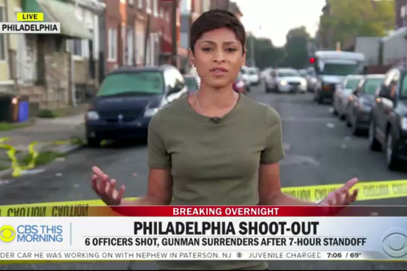 Philadelphia police shooting quickly fades as a national news story