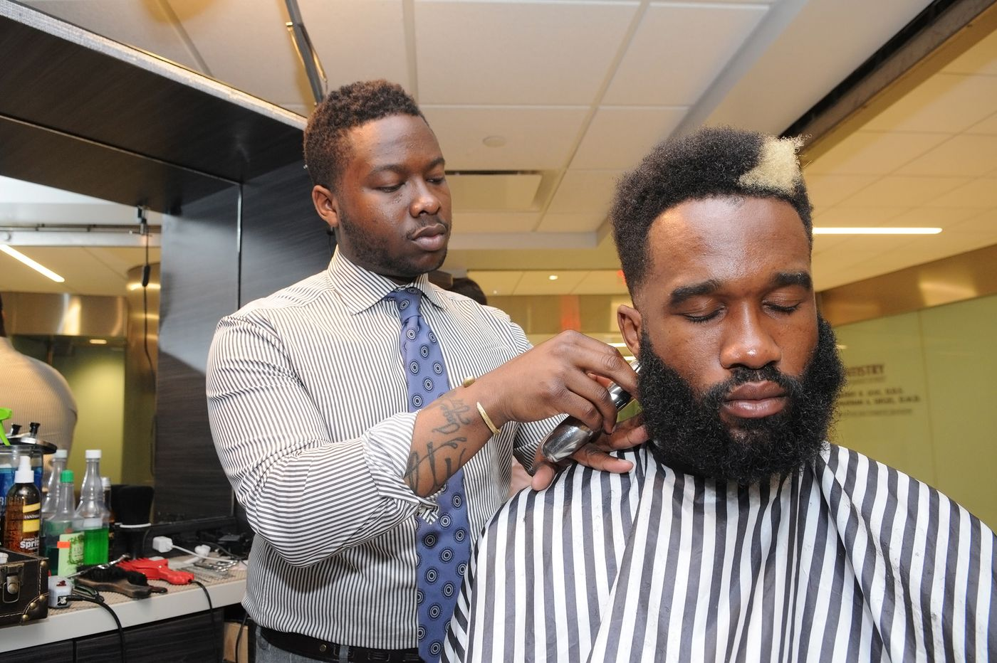 A mobile barbershop experience that elevates the culture of the gentleman | Elizabeth Wellington