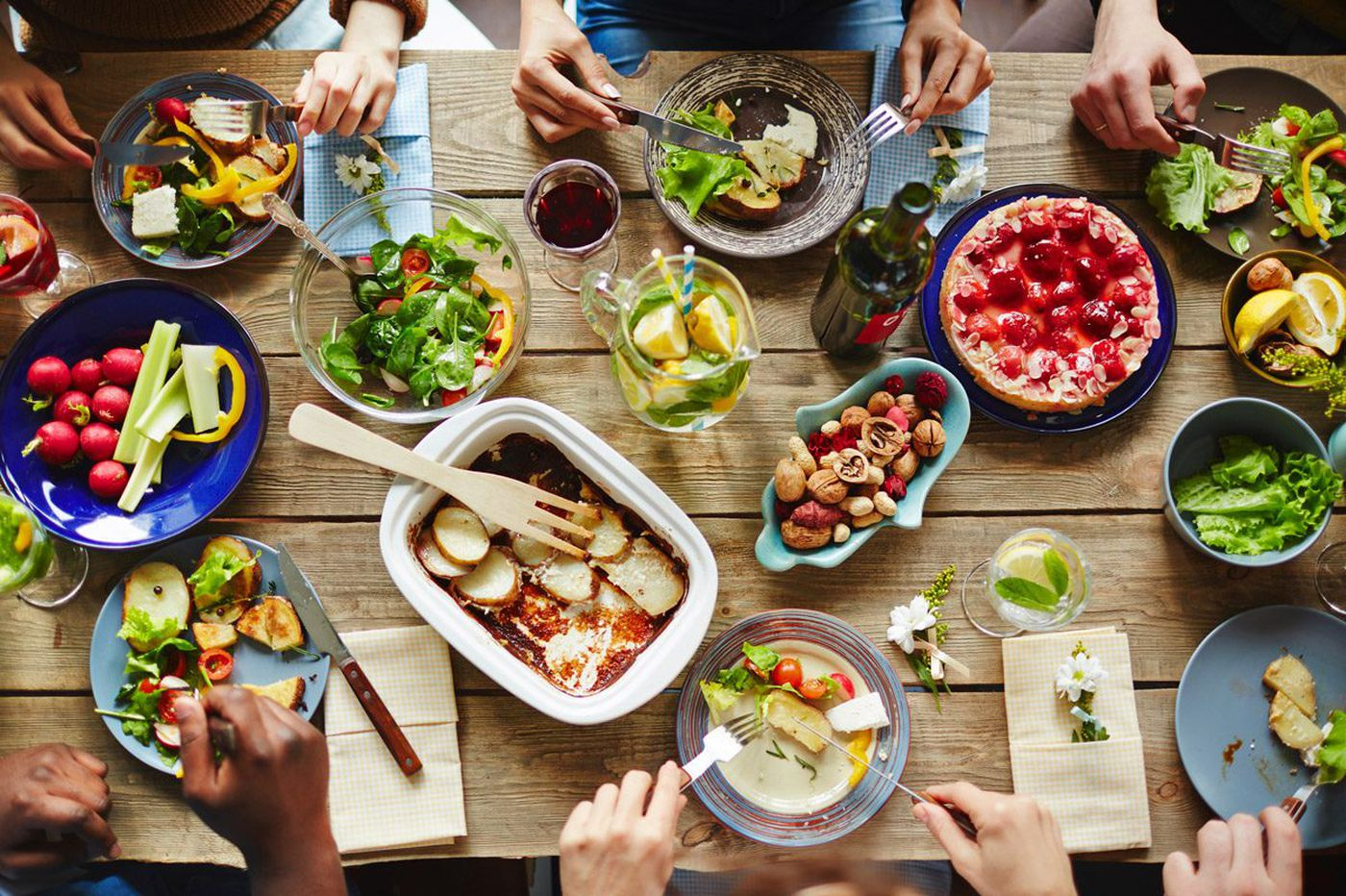 Navigating the dietary minefield of holiday party season