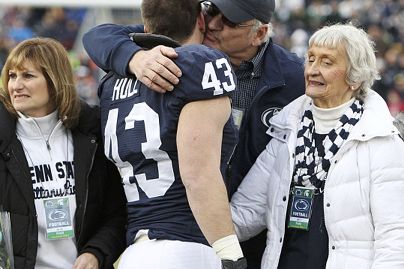 Senior Mike Hull savors final days at Penn State