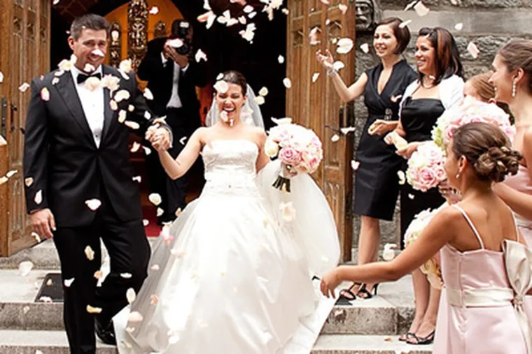 Courtney Harris and Adam Jackson were married September 10, 2010 in Bryn Mawr. (Baiada Photography)