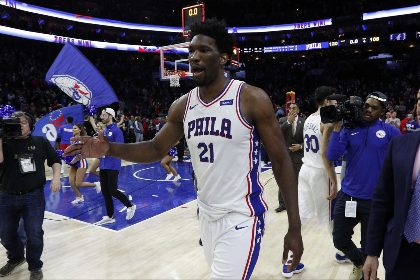 Sixers seeking 50 wins for a star on their homework
