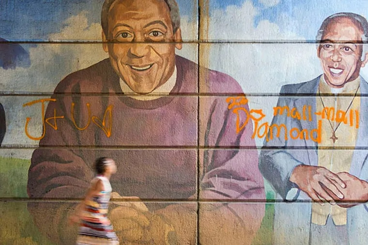 The city's Mural Arts Program has moved up the removal of the Bill Cosby mural because of recent headlines.