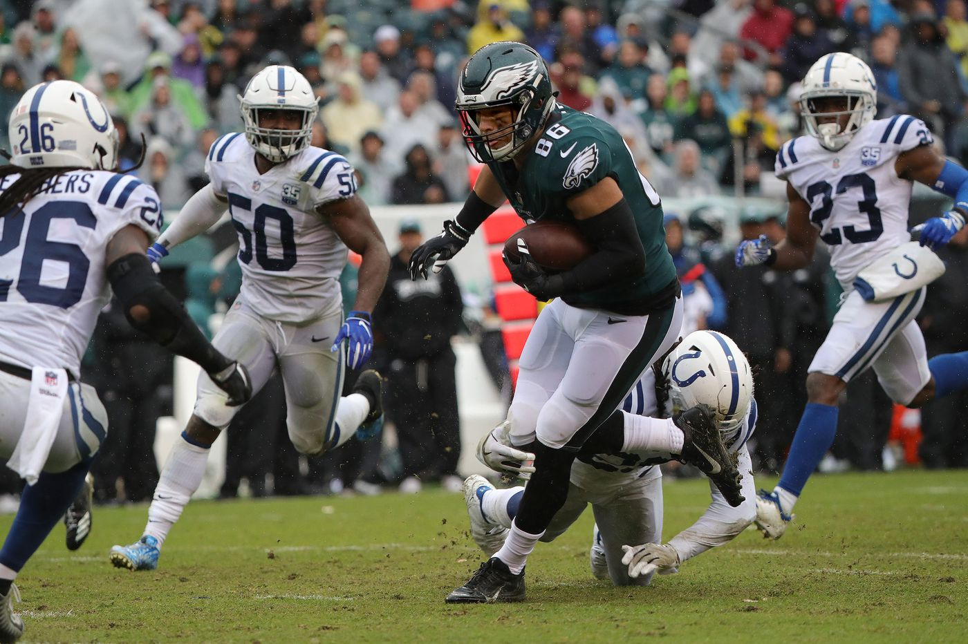 Eagles exude confidence on both sides of the ball in character win over Colts | David Murphy