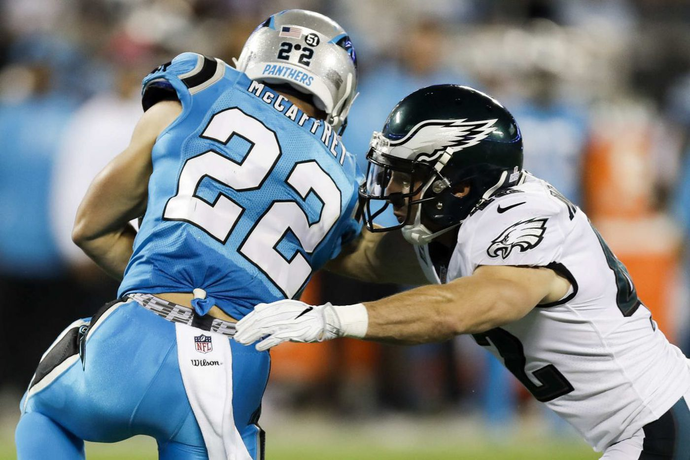 Eagles place Chris Maragos on injured reserve, promote Nate Gerry from practice squad
