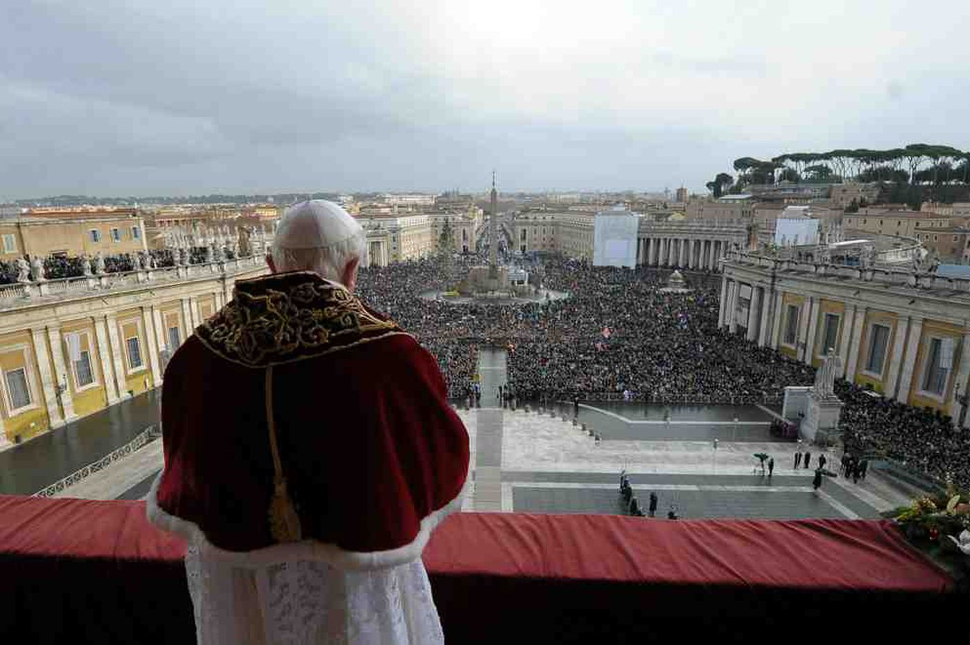 Pope's message: Stay strong