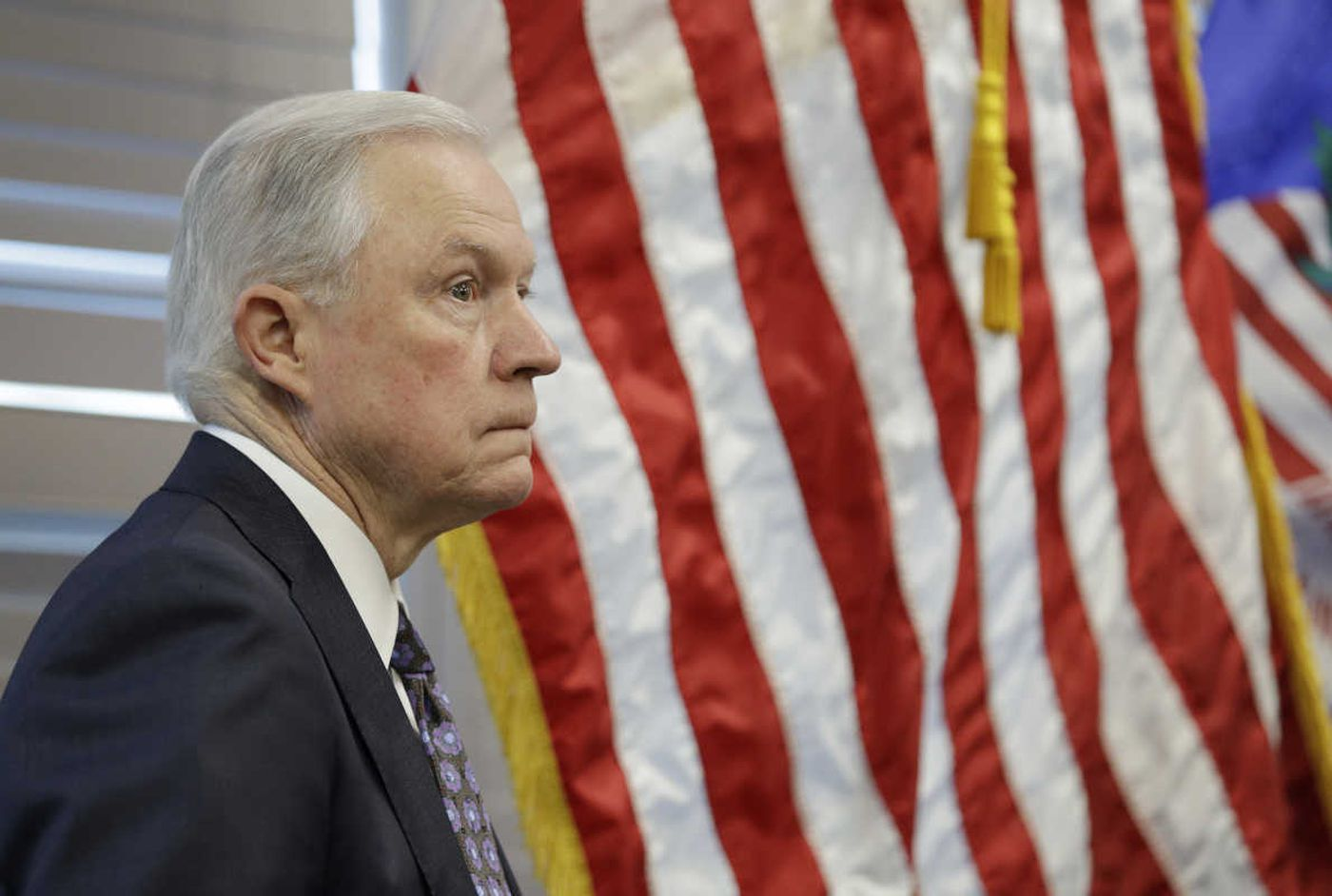 Jeff Sessions, keep serving the country and its people