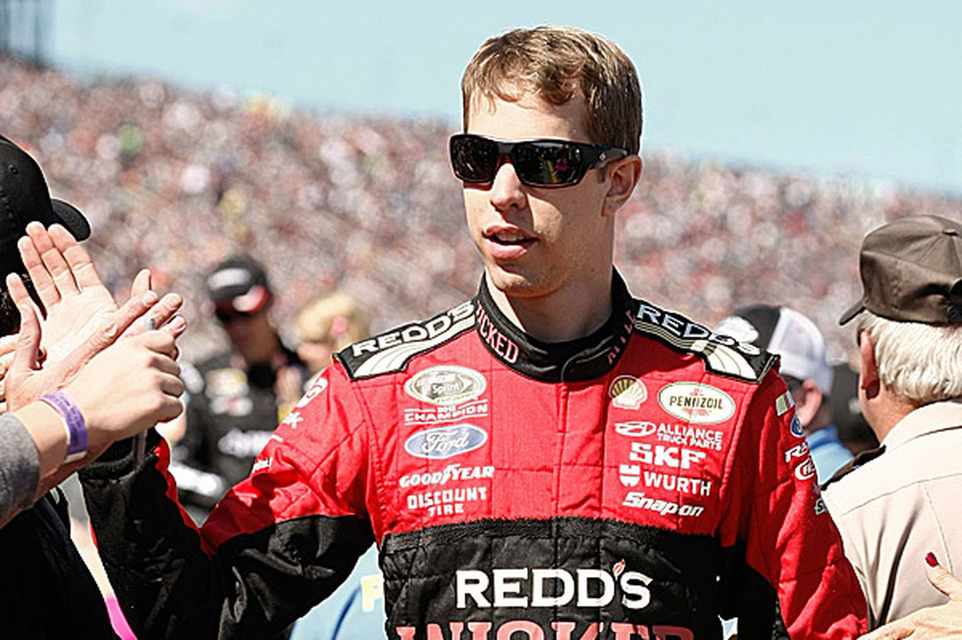 Leading one lap was enough for Keselowski to claim California race