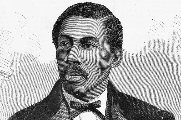 This portrait of Octavius V. Catto appeared in Harper's Weekly on Oct. 28, 1871.