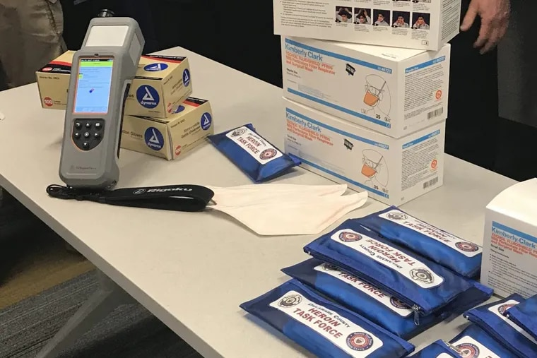 Delaware County's new ResQ scanner, which can detect drugs and explosive devices.