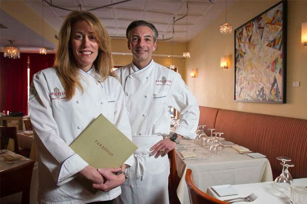 At Paradiso Restaurant & Wine Bar, it's rooftop to table