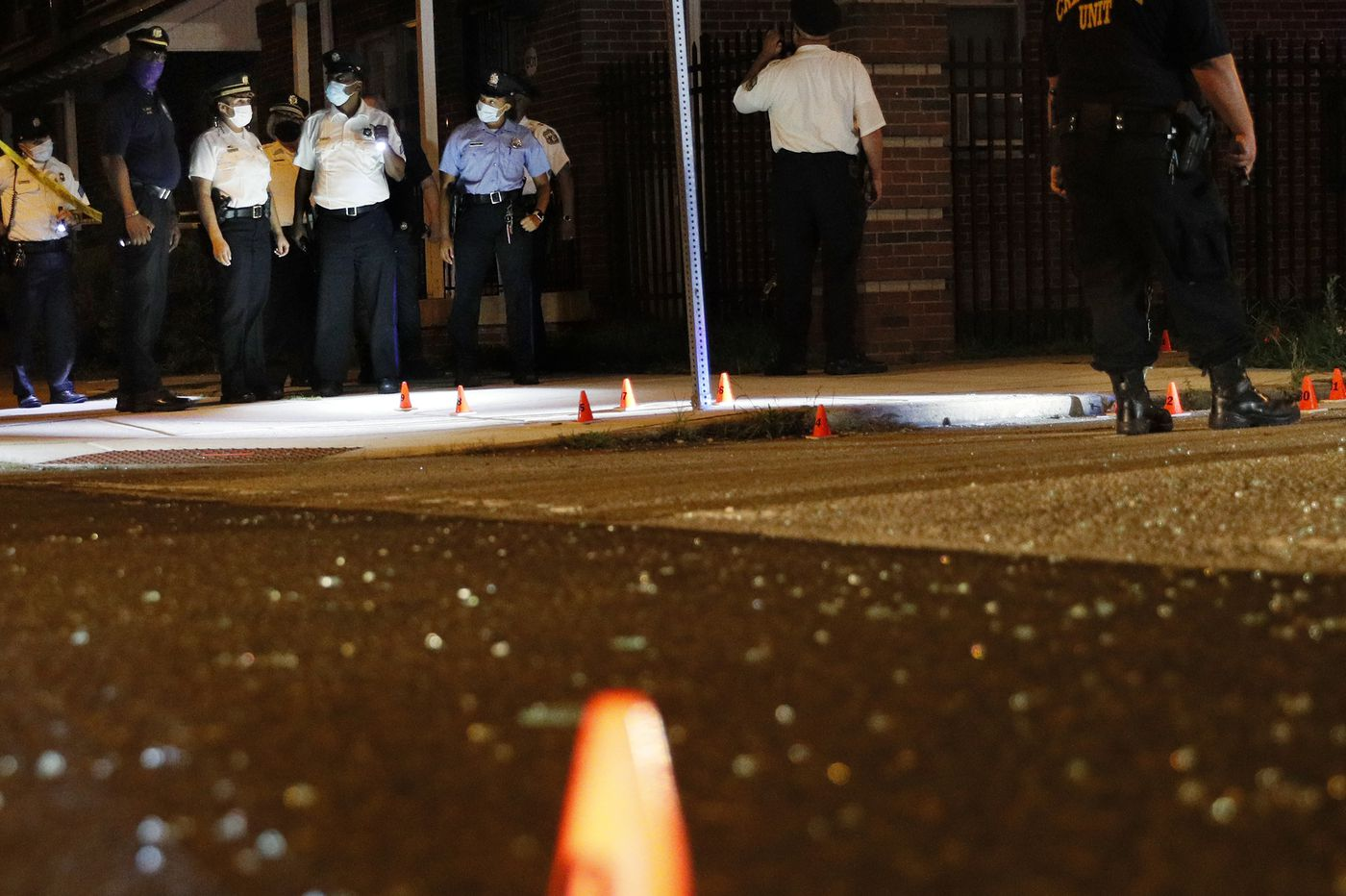 30 people were shot this weekend in Philadelphia, including 5 at a party held to honor a gun violence victim