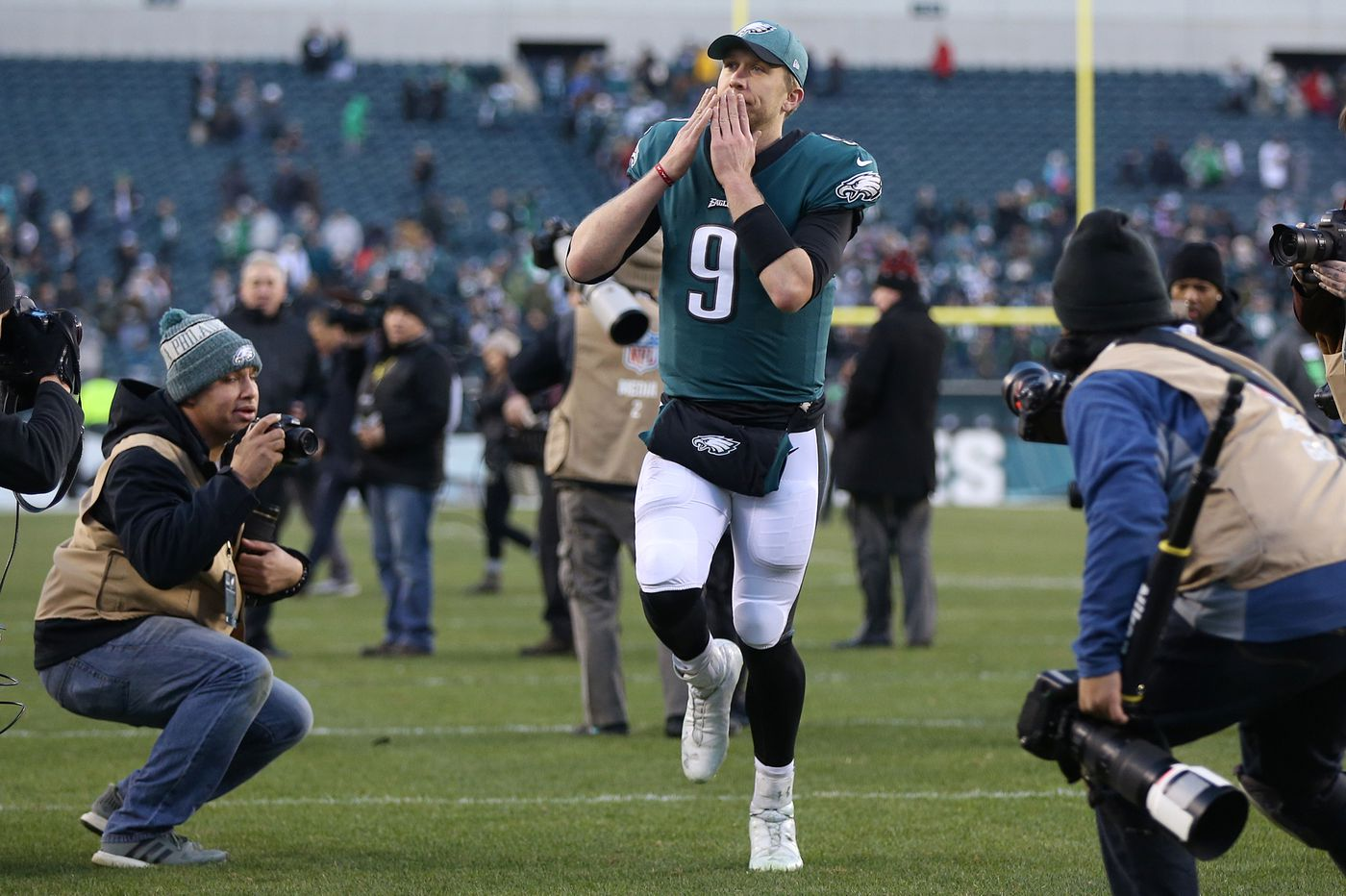 Nick Foles' love story with Philadelphia nears the final act