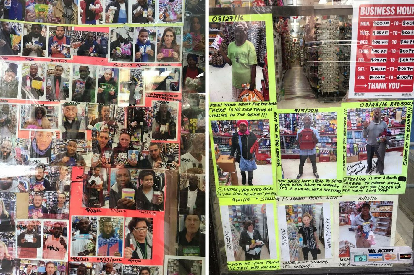"""Philly dollar-store manager gave shoplifters a choice: jail or the """"Wall of Shame"""" 