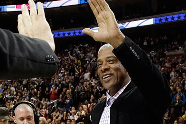 Julius Erving will join the Sixers in a newly created strategic adviser position. (Matt Slocum/AP file photo)