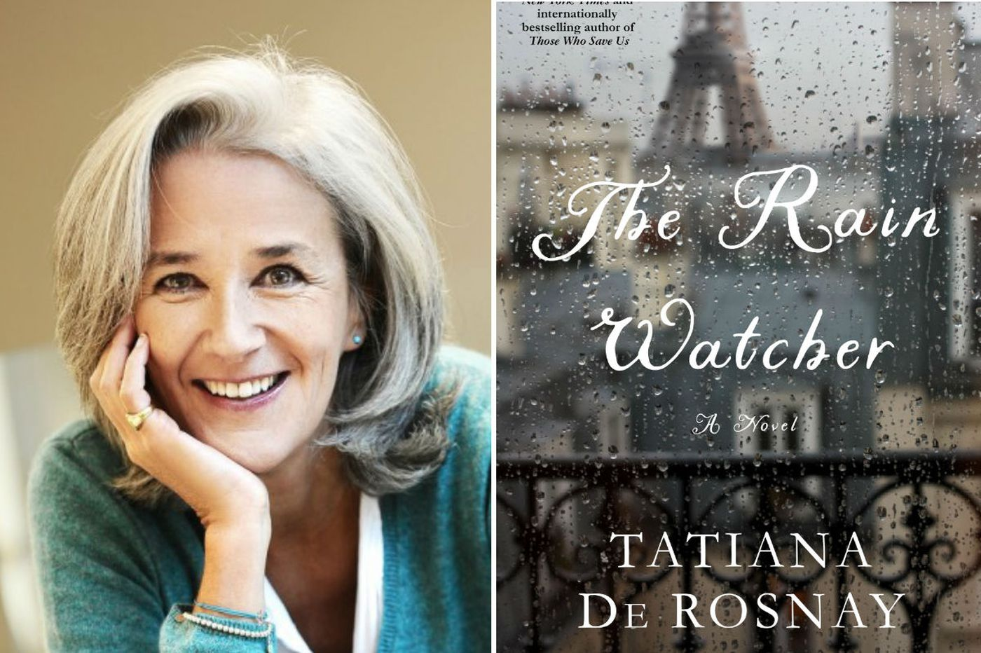 the rain watcher by tatiana de rosnay tormented paris and people