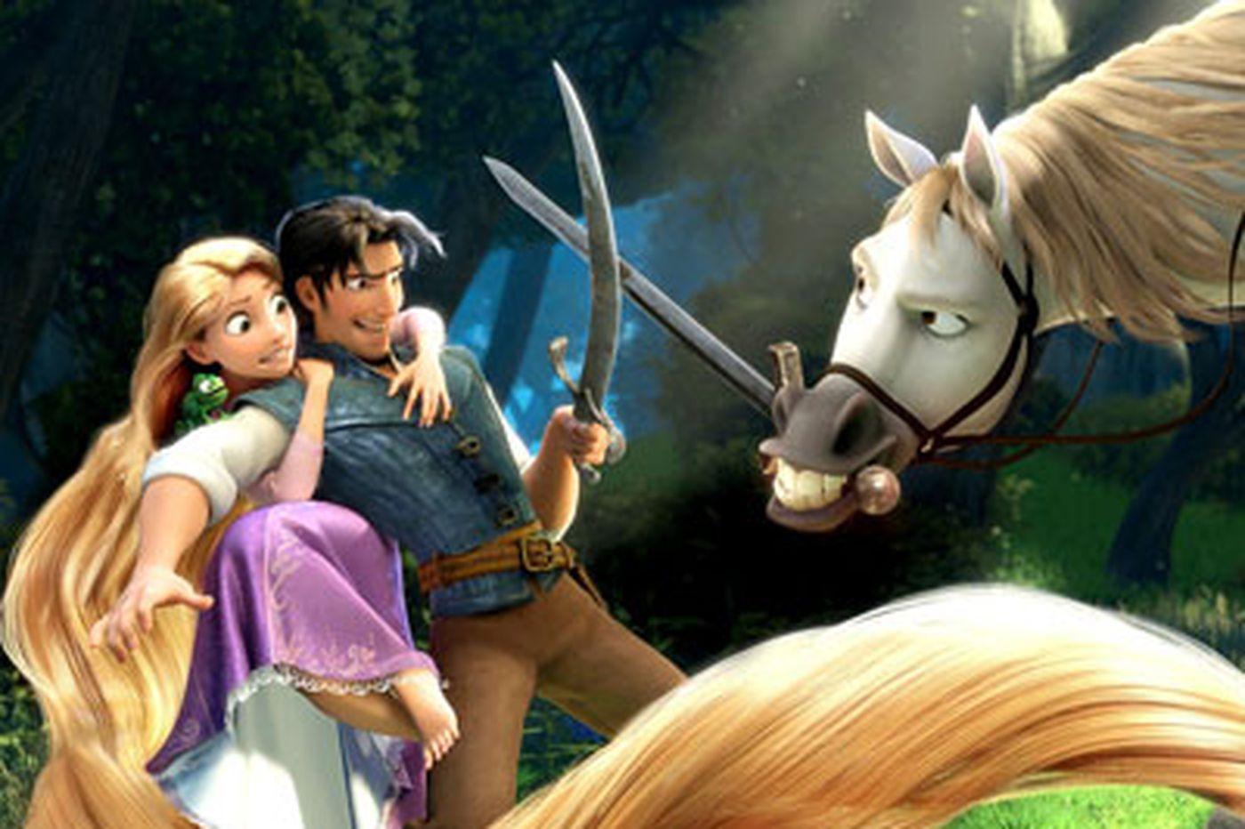 Rapunzel gets a makeover in Disney's 'Tangled'