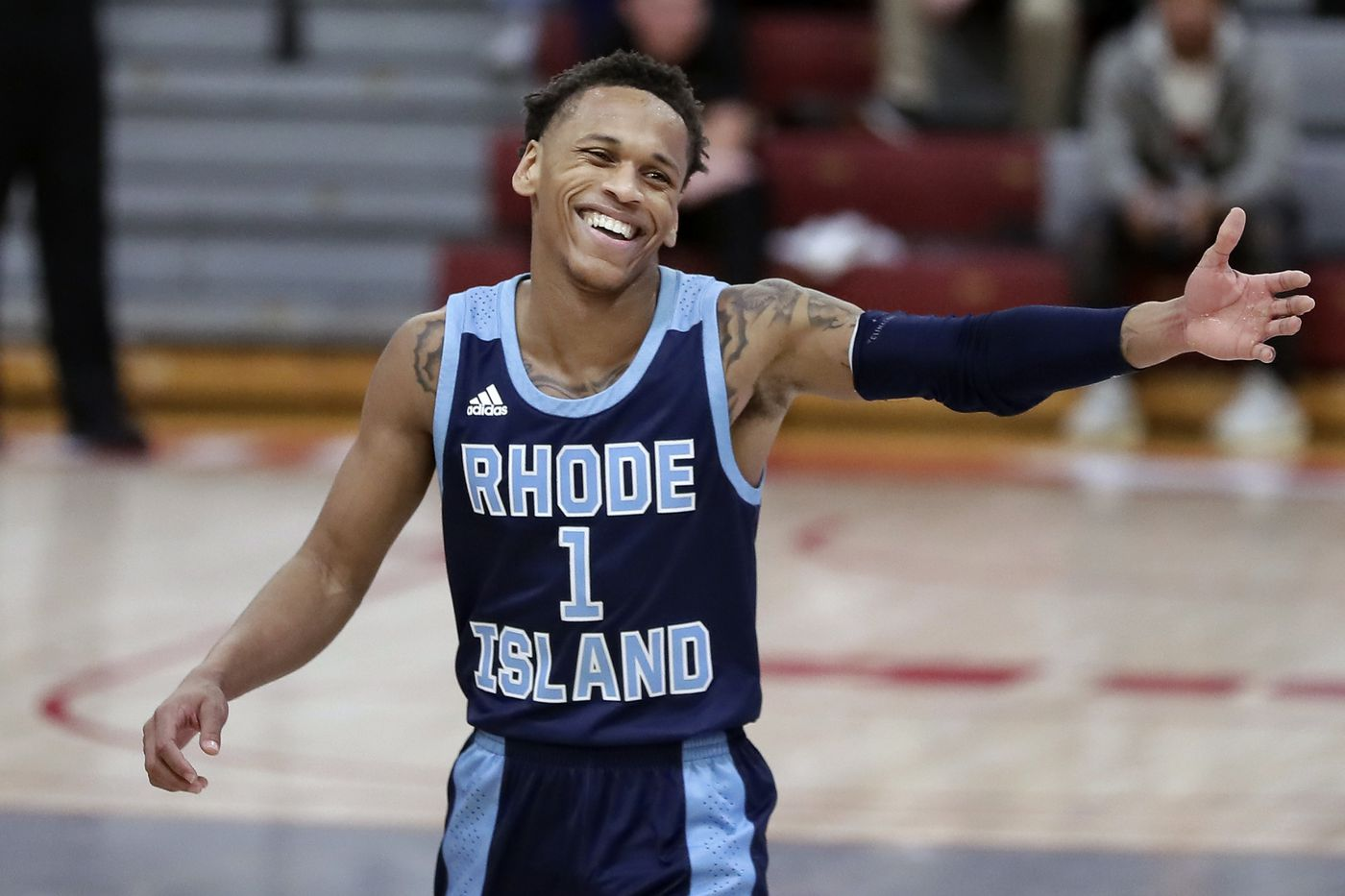 Fatts Russell makes it a special night on Hawk Hill -- for Rhode Island | Mike Jensen
