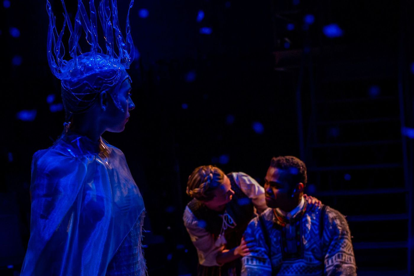 'Snow Queen' at Arden has it all: Imagination, goosebumps, haunting sound — and lots of snow