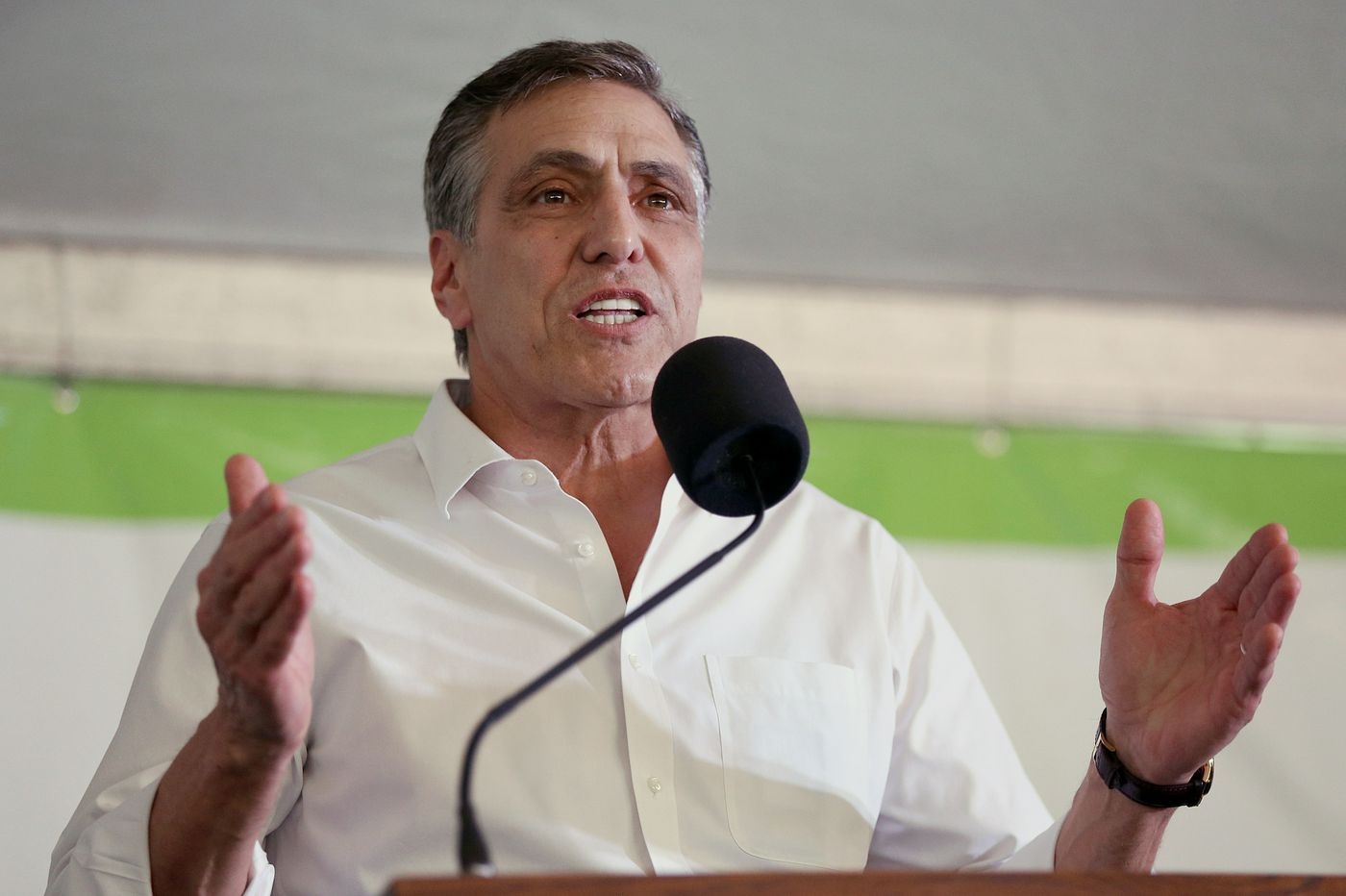 Trump-blessed Senate candidate Lou Barletta (curiously) gives speech with no mention of Trump | John Baer