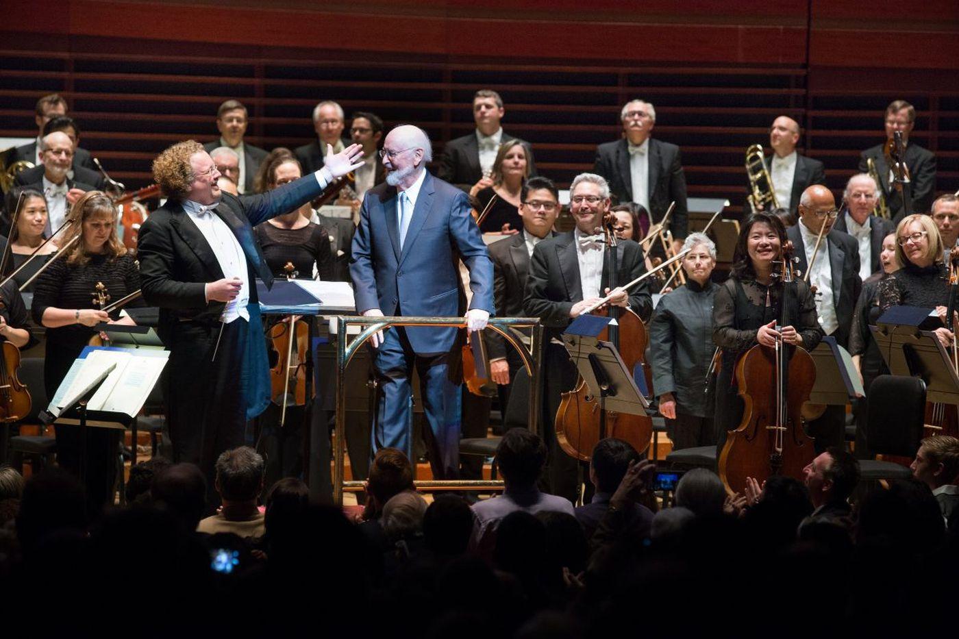 Philadelphia Orchestra adds John Williams concert