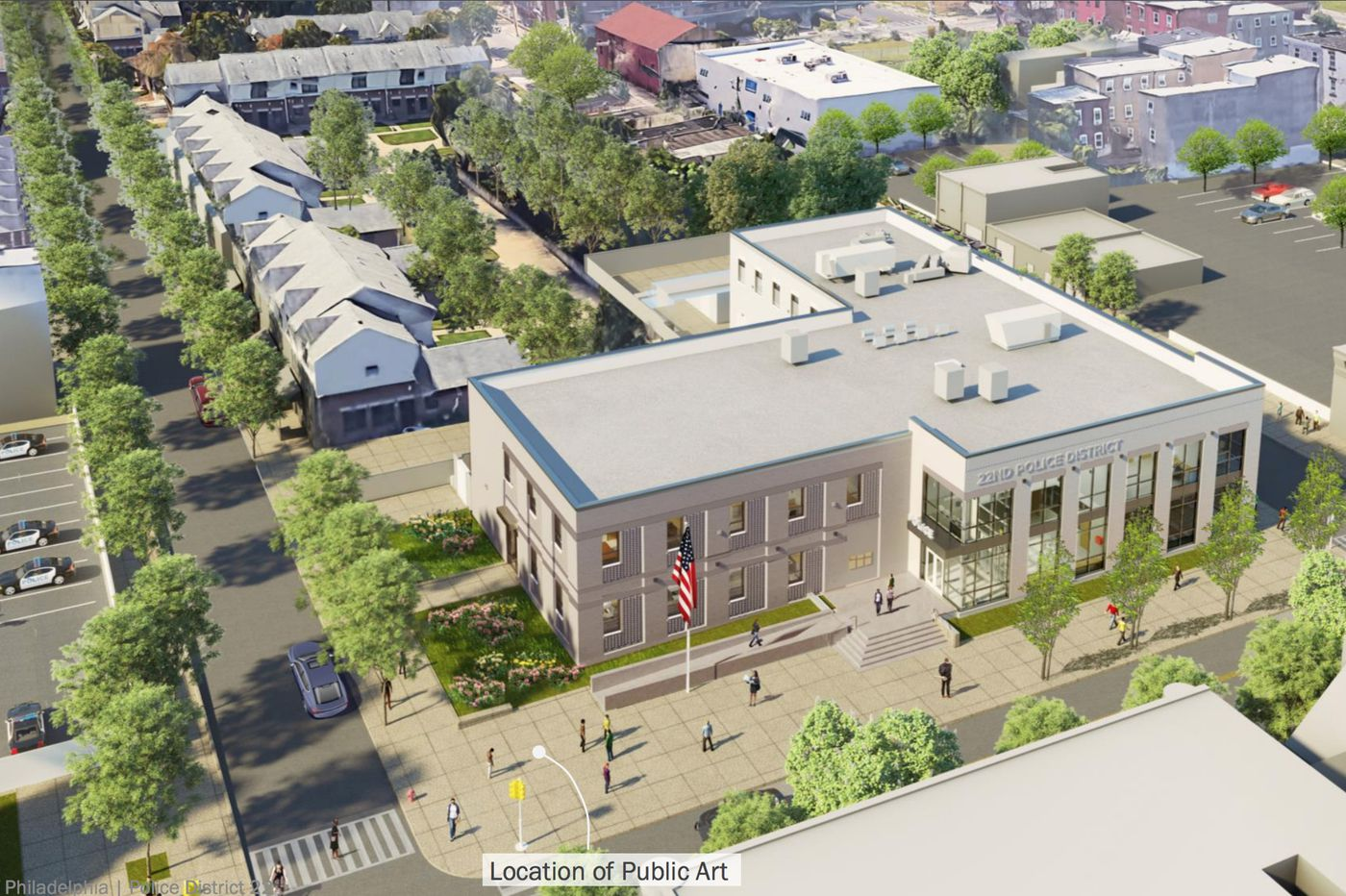 Plans for a North Philly police station make even less sense after the George Floyd protests | Inga Saffron