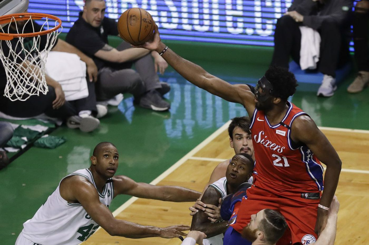 Sixers struggled with uncontested and three-point shots in Game 1 vs. Boston