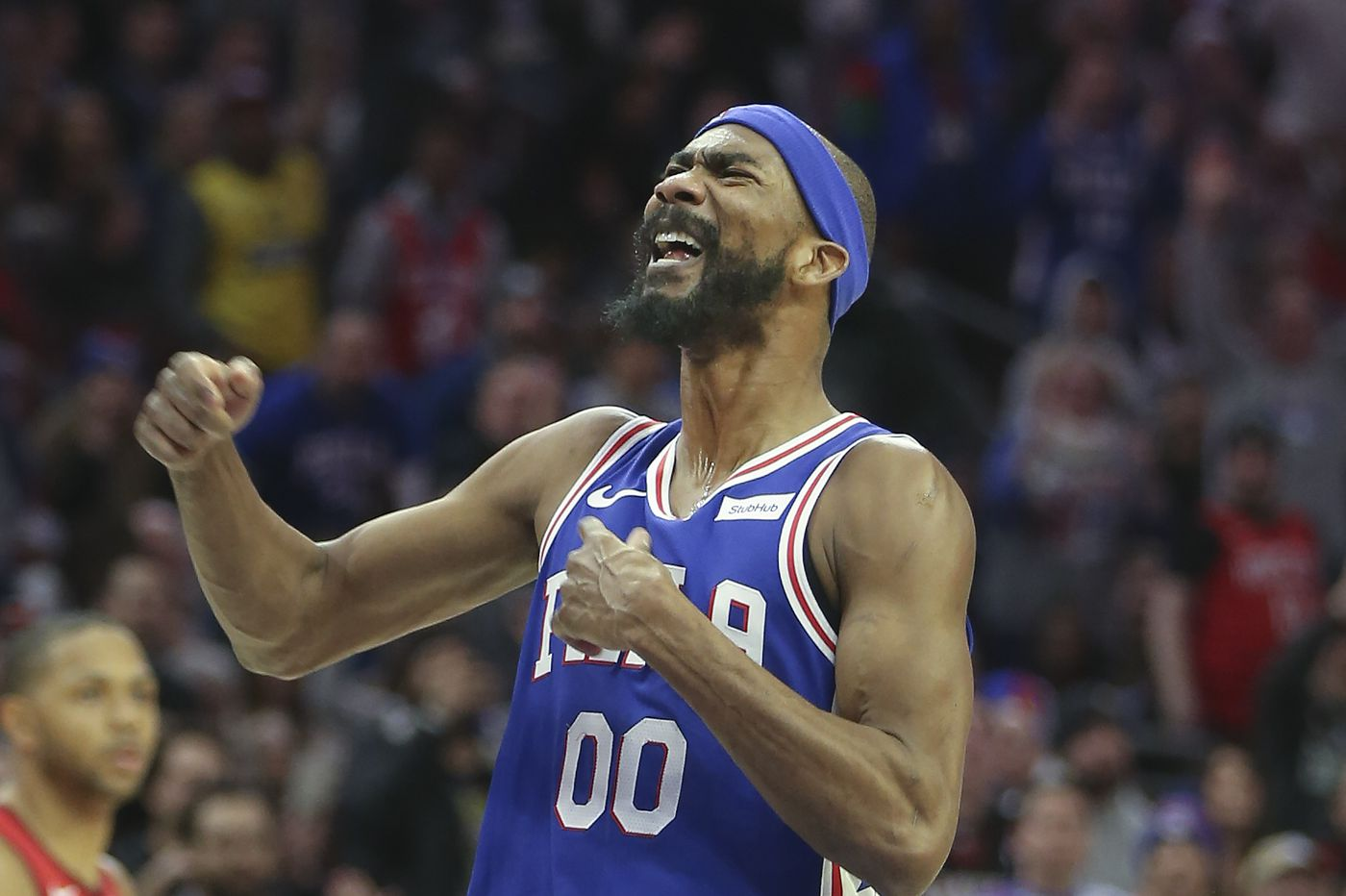 Watch: New Sixer Corey Brewer goes viral for incredible defense on James Harden