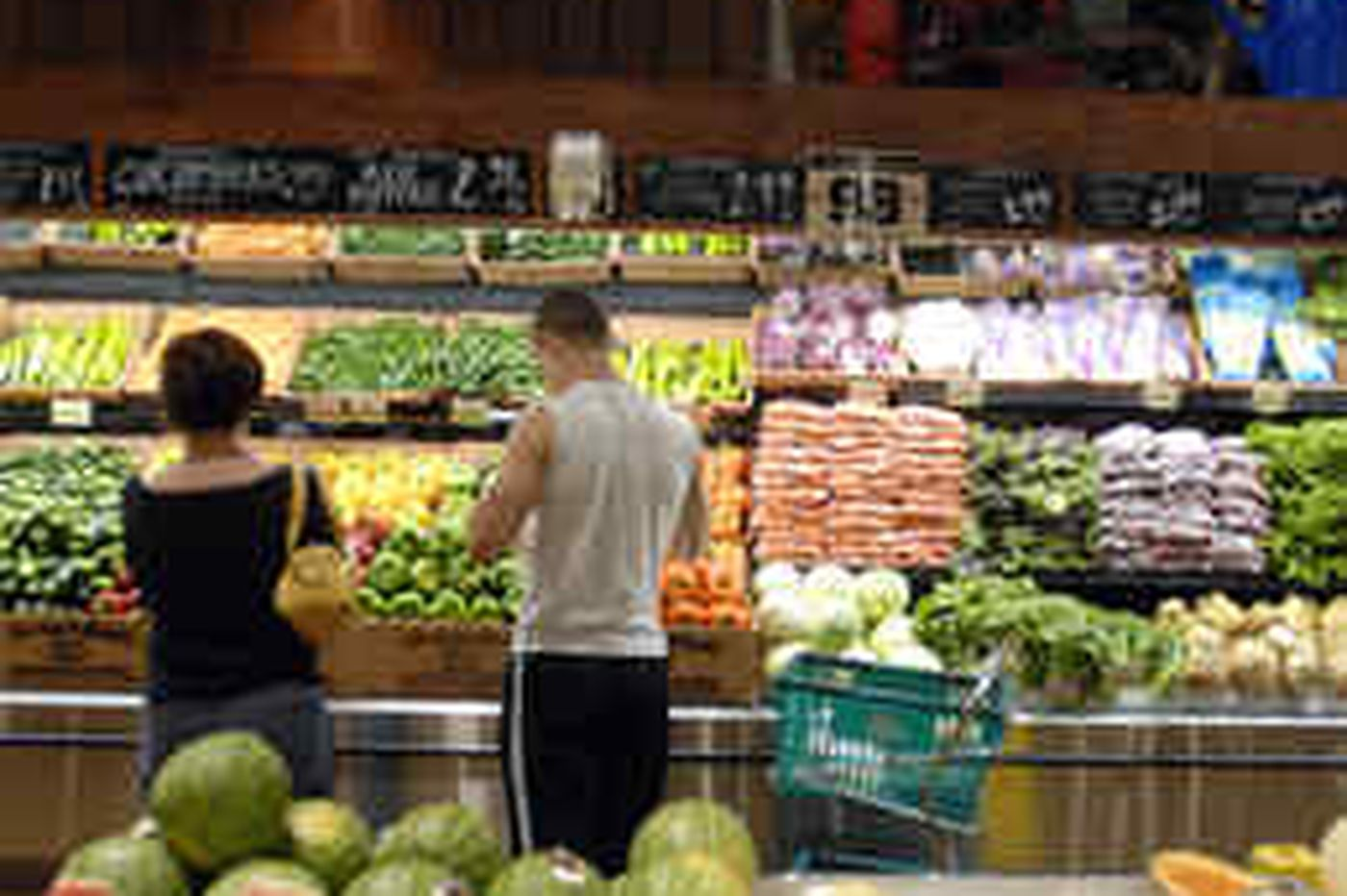 Local food prices down, energy up