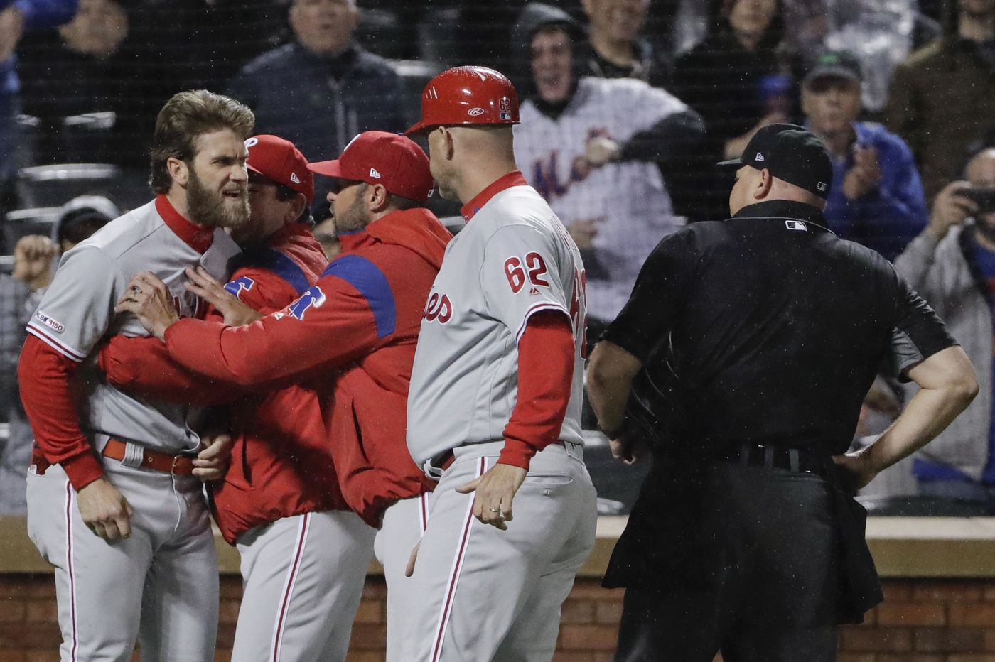 Objection, ejection and dejection for Phillies in series-opening loss to Mets | Extra Innings
