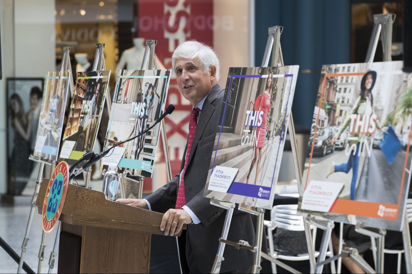 It's about the Center City shopping, too, new marketing push says