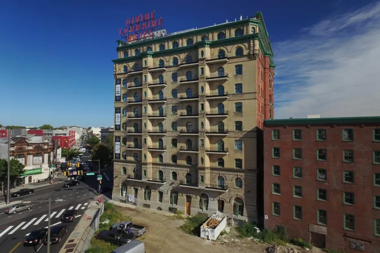 Tax credits helped with the restoration of the Divine Lorraine on North Broad.