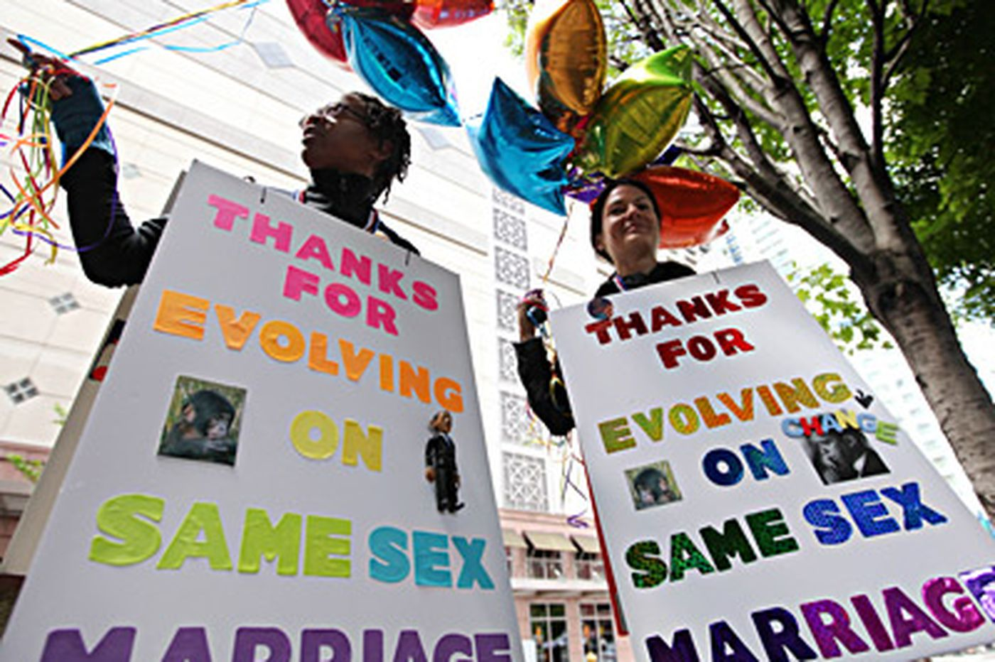 On gay rights, a historic shift