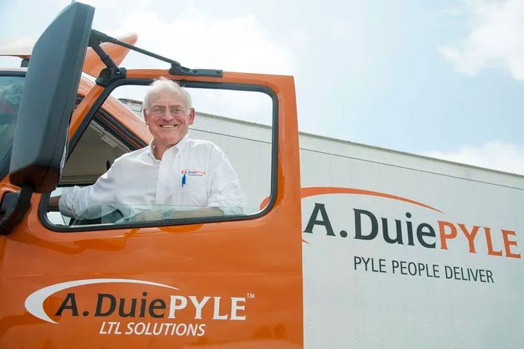 Peter Latta, chairman and CEO of A. Duie Pyle trucking company in West Chester.