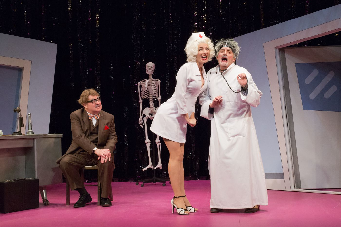 Spirited Bristol Riverside Theatre rendition of 'The Sunshine Boys' shows it's one of Neil Simon's best