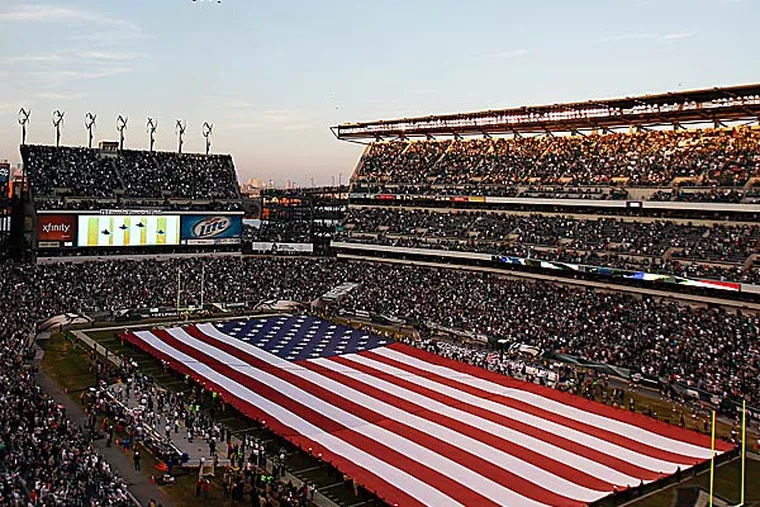 Construction on Lincoln Financial Field started in 2001, was completed in 2003 and cost $512 million. (David Maialetti/Staff Photographer)